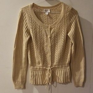 ANN TAYLOR LOFT cotton sweater size M